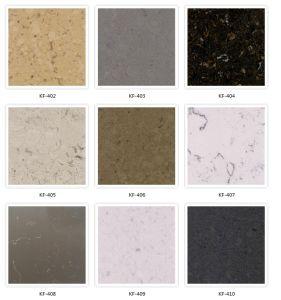 Popular Color Quartz Stone Countertop for Australian Market pictures & photos