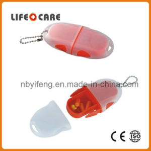 Pill Box with Keychain for Promotion pictures & photos