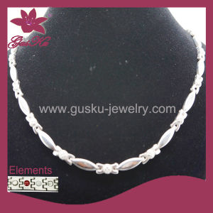 Popular Magnetic Health Stainless Steel Necklace (2015 Gus-Stn-007) pictures & photos