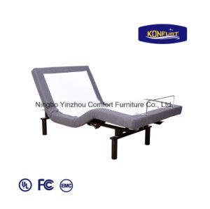 Massage Adjustable Bed Head & Foot up Down Home Furniture 200b pictures & photos
