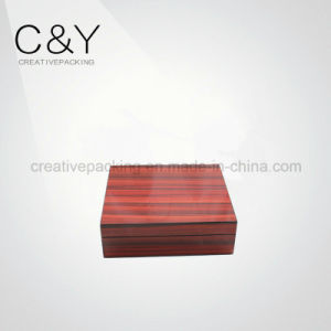 Two-Piece Solid Wood Finish Wood Gift Box for Perfume Package pictures & photos