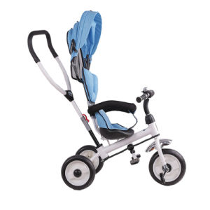 3-in-1 2017 New Model PP Plastic Children Tricycle pictures & photos