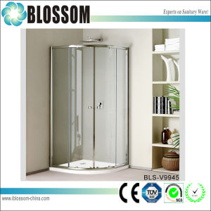 Glass Sliding Door Simple Shower Cubicle Shower Enclosure pictures & photos