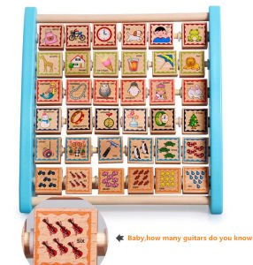 Early Learning Centre Wood Alphabet Teaching Frame
