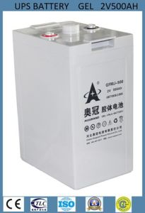 2V500ah Communication Battery