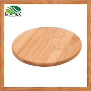 Natural Bamboo Round Coaster Cup Mat pictures & photos