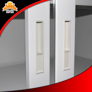 China Kd Sliding Glass Door Filing Cabinet pictures & photos