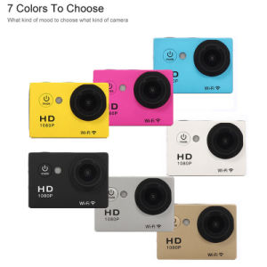 1080P 30fps 12MP Kamery Sportowe Mini DV WiFi Sport Cam pictures & photos
