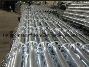 Wedge Lock Scaffolding Standar/Vertical Pipe pictures & photos