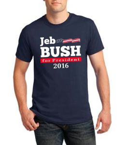 2016 Wholesale OEM Election Printing Man T-Shirt pictures & photos