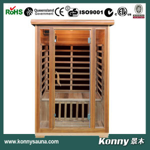 2014 Kl-200c-R (2 person) New Luxury CE Certification Indoor Far Infrared Sauna Cabin