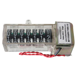7digits Mechanical Counter for Energy Meter (H-JSQ03ZD) pictures & photos
