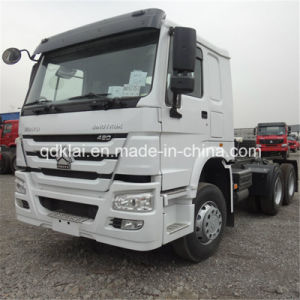 HOWO 6X4 Tractor Truck 371HP pictures & photos
