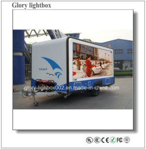 Mobile Moving P16 Dh LED Screen Signage pictures & photos