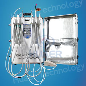 Portable Dental Unit with Inside 6L Air Tank pictures & photos