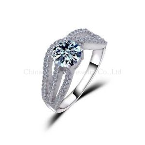 925 Sterling Silver Wedding Ring Jewelry pictures & photos