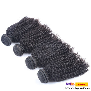 Wholesale Brazilian Virgin Hair Curly Style Crochet Human Hair Weave pictures & photos