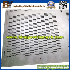 Oblong Hole Perforated Metal Mesh for Ventilation pictures & photos