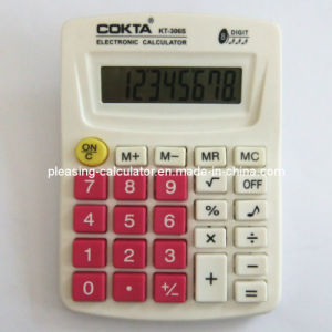 Desktop Office 8 Digits Colorful Calculator (KT-306S)
