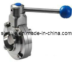 Stainless Steel Sanitary Weld Butterfly Valve pictures & photos
