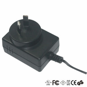 12V 1A Power Charger with EU/Au/Us/UK Plug