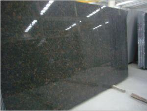 Natural Stone Tan Brown Granite Slab for Countertop&Vanity Top pictures & photos