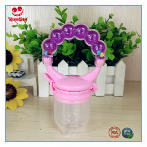 Colorful Baby Food Feeder with Rattle Ring pictures & photos