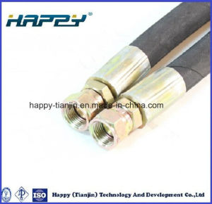 En853 2st/2sn Two Wire Braided High Pressure Hydraulic Hoses pictures & photos