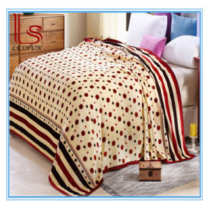 Wholesale Winter 1 Ply Ferrets Wool Blanket Thick Warm Sheet Flange Flannel Blanket Cover Coral Fleece Blanket pictures & photos