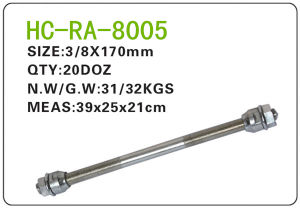 Bicycle Parts Steel Axle (RA-8005) pictures & photos