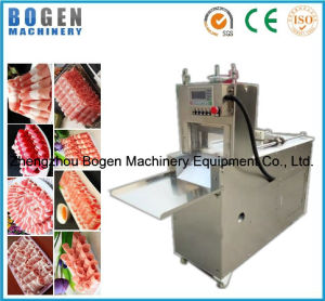 Fully Automatic Adjustable Meat Slicing Machine Mutton Roll Slicer Meat Slicer pictures & photos
