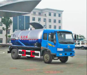 5-8 cbm Vacuum Suction Truck, suction sewage truck, Fecal Suction Truck pictures & photos