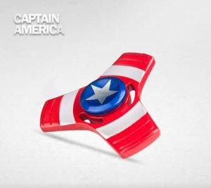 Factory Wholesale Captain America Iron Man Tri Fidget Spinner pictures & photos