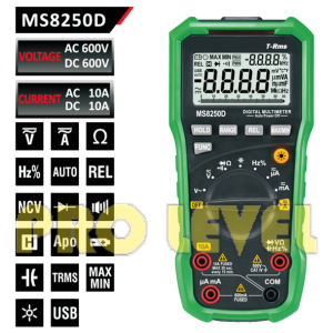 Professional 6600 Counts Digital Multimeter (MS8250D) pictures & photos