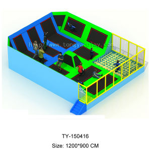 2015 New Design Indoor Trampoline (TY-150416) pictures & photos