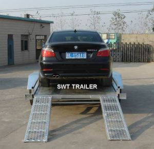 2-Axle Competative Price Car Carrier for Equipment Transportation (SWT-CT126) pictures & photos