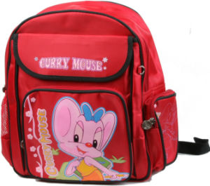 Student School Backpack for Girl pictures & photos
