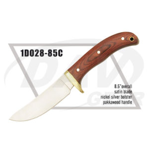 "8.5"" Overall Pakkawood Handle Dagger with Satin Blade: 1do28-85c pictures & photos"
