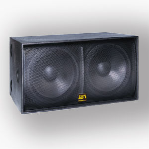"""1200W Dual 18"""" Subwoofer Speaker (S-218) pictures & photos"""
