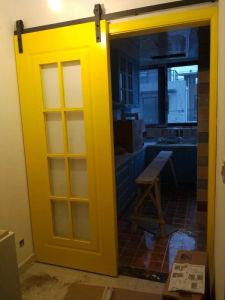 Black Carbon Steel Interior Barn Door Hardware pictures & photos