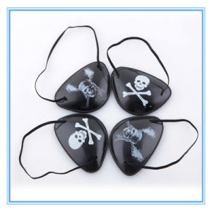 Halloween Costumes Accessories Masquerade Caribbean Pirate One Eyed Mask pictures & photos