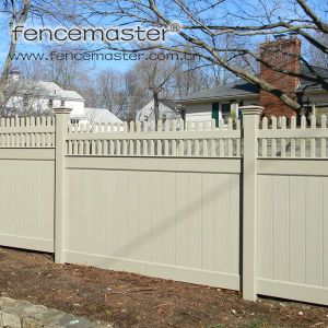 Solid Vinyl Fence for Export pictures & photos