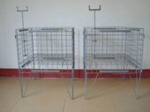 Steel Wire Mesh Container for Storage pictures & photos