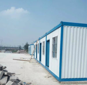 Galvanized Steel Sandwich Panel Container House pictures & photos