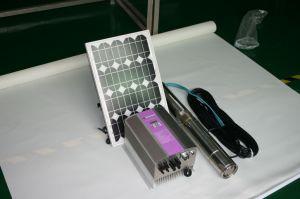 30m 24V DC Solar Water Pump 3cbm Per Hour 576W Lowest Voice pictures & photos