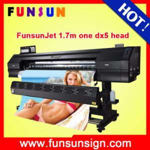 Funsunjet Fs-1700k Outdoor Large Format Vinyl Sticker Printer (1.7m, 1440dpi, DX5 head, economic and good quality) pictures & photos