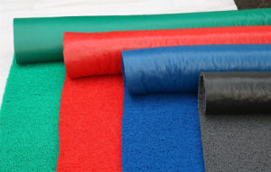 High Quality PVC Coil Mat with Foaming Back pictures & photos