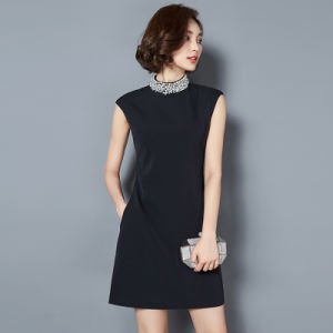 China Manufacture Korean New Fashion Model Career Dress pictures & photos