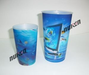 2015 Various Blue Lenticular Cups for Gift pictures & photos