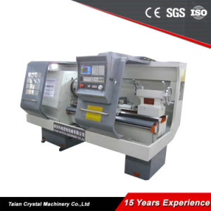 Chinese CNC Pipe Thread Lathe Advantages (QK1313) pictures & photos